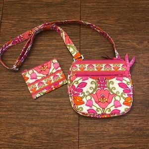 Vera Bradley small purse and coin purse